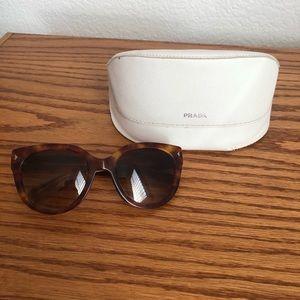 Prada sunglasses SPR 170 cat eye sunglasses